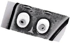 Gumby eyes