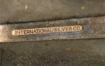 International Silver Company stamp