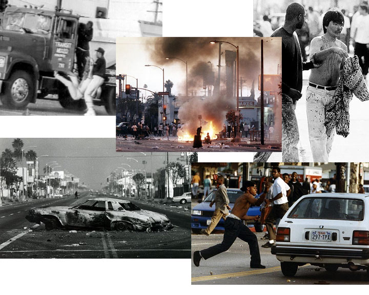 1992 los angeles race riots essay 1992 los angeles riots 2,000 california army national guardsmen patrolled the city to enforce the law the los angeles county district attorney subsequently charged four police officers, including one sergeant, with assault and use of excessive force.