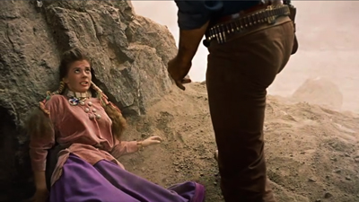 013-Debbie-Cowering-In-Cave-The-Searchers-1956